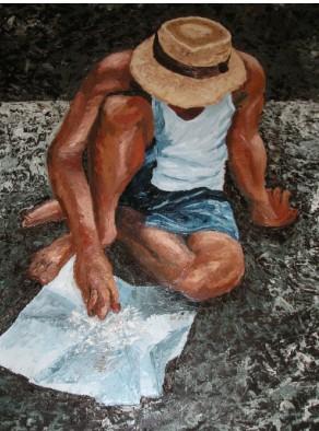 Como pintar al oleo
