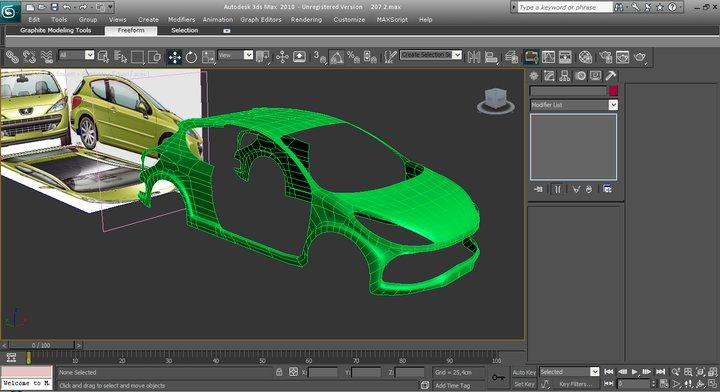 Modelado de autos en 3ds Max