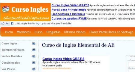 Curso de ingles elemental con videos