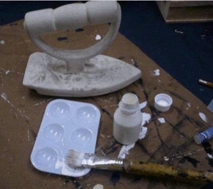 Pintar sobre cerámica