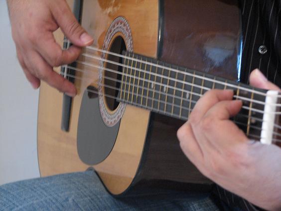 Curso basico de guitarra acustica